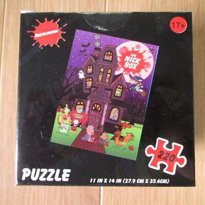 Halloween Games Jigsaw Puzzles (2018 NICKTOONS HALLOWEEN JIGSAW PUZZLE - 11x14