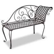 New Items—vidaXL Metal Garden Chaise(SKU:40717)Free Delivery* Mount Kuring-gai Hornsby Area Preview