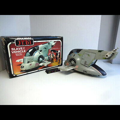 Vintage Star Wars 1983 Palitoy Division Slave 1 Complete in Very Good Condition for sale  Shipping to Nigeria