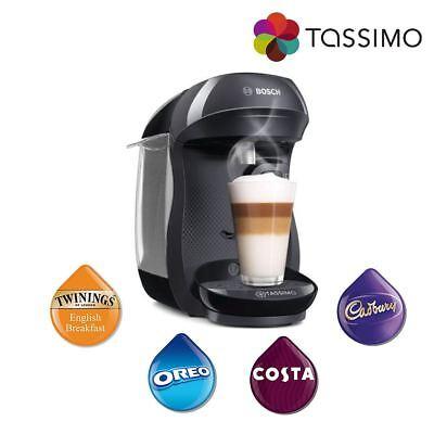 Tassimo TAS1002GB Happy Costa Coffee Hot Drinks Coffee Machine 1400W 0.7L Bosch