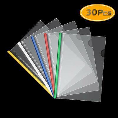 A4 Report Covers With Sliding Bar Transparent Folder Resume Presentation File 5