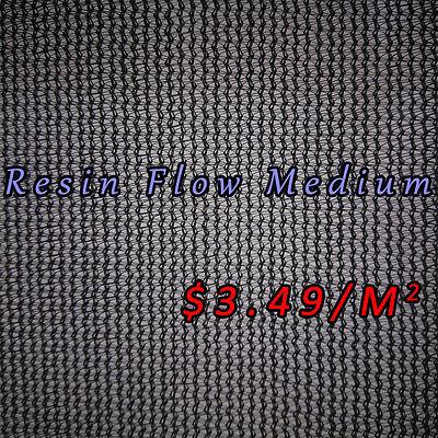 Vacuum Resin Infusion Resin Flow Medium Resinflow 79 Wide Max Width 2m