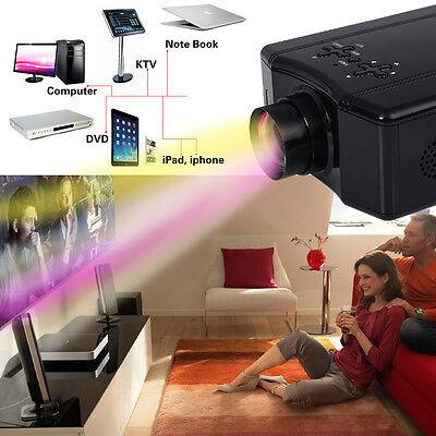 4000 Lumens HD 1080P Home Theater Projector 3D LED Portable SD HDMI AV USB New