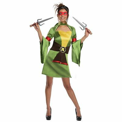 Halloween Teenage Mutant Ninja Turtles Raphael Costume Green XS Same Day Ship - Ninja Turtles Raphael Halloween Costume