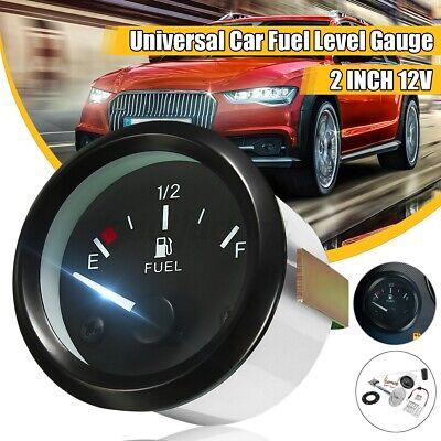 2'' 52mm 12V Digital Fuel Level Gauge Oil Meter Measure Sender Fuel Sensor