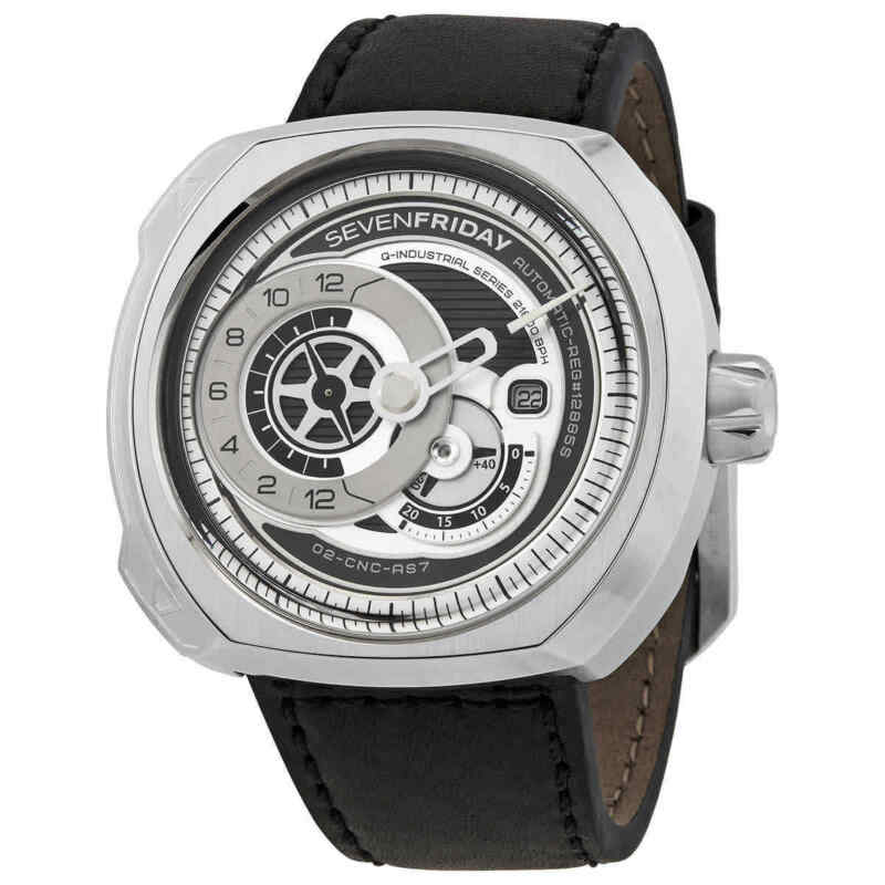 Sevenfriday Q-Series Automatic Men Leather Watch