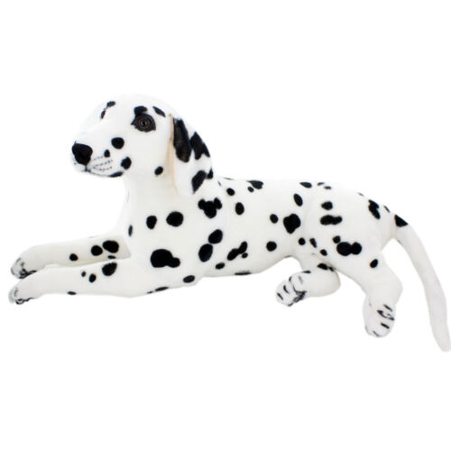 JESONN Lifelike Stuffed Animals Dalmatian Dog Toys Plush for Kids Gift 23.6 Inch