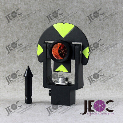 New Metal Mini Reflective Prism Set For Leica Total-station. Replaces Gmp101