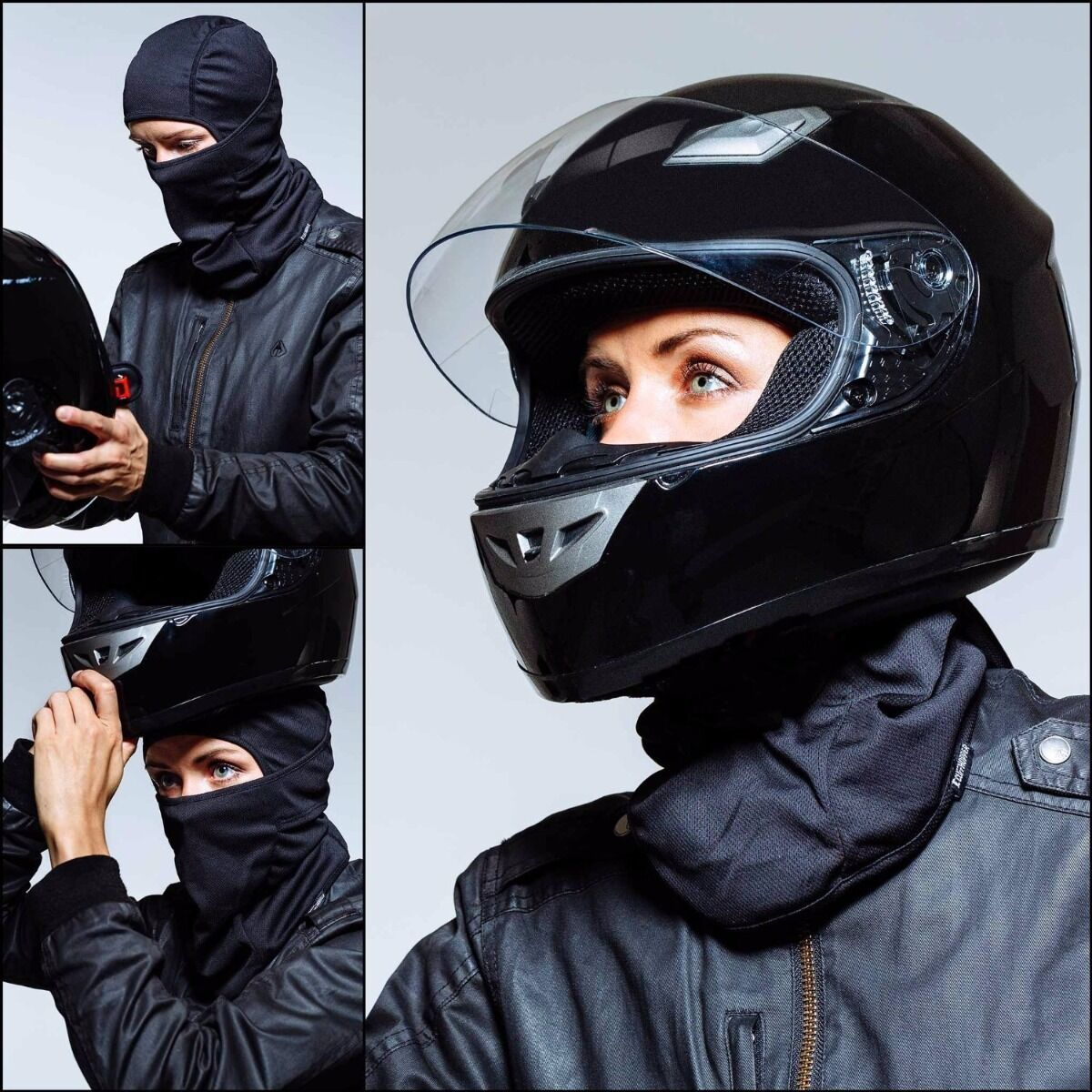 Ski [9in1] Face Mask Motorcycle Running Cycling Balaclava fr Cold/Hot Weather Clothing