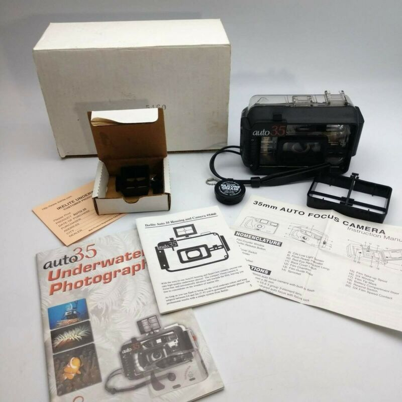 Ikelite Auto 35 Housing And Superview Camera #5460 Underwater Photography