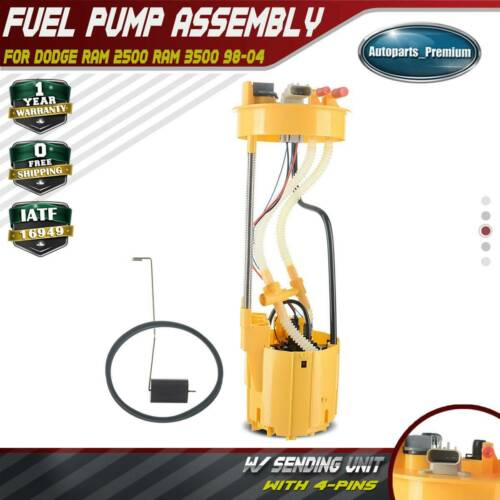 New Fuel Pump Assembly with Sending Unit for Dodge Ram 2500 3500 L6 5.9L E7187M