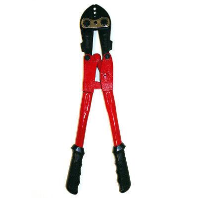 Crimping Tool 4 Slot 21 Inch for Fencing Sleeve Crimper 9 to 15 Gauge