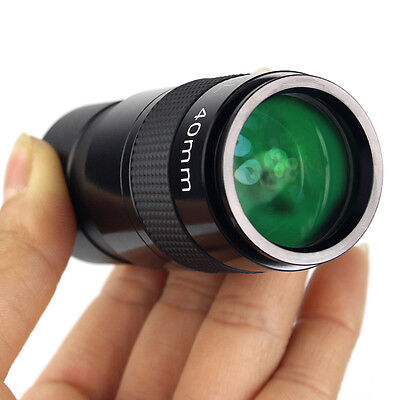 "1.25"" Plossl40mm Eyepiece Fully Metal Multi Coated Black for Astronomy Telescope"