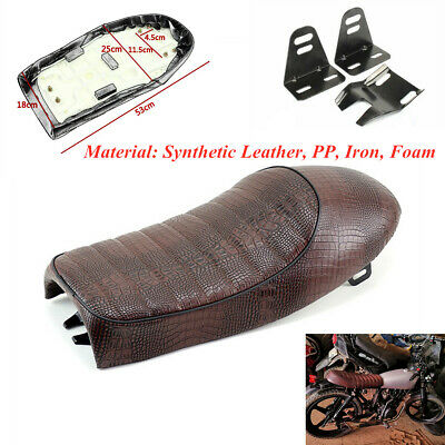Motorcycle Seat Comfort Hump Cushion Seat With Mounting Bracket