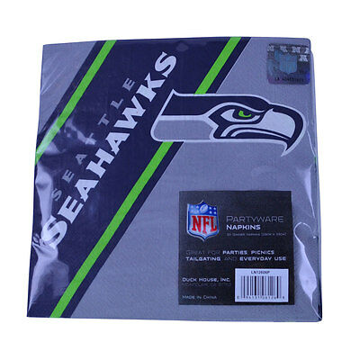 New NFL Seattle Seahawks 20pcs Dinners Napkins Partyware Party Supplies