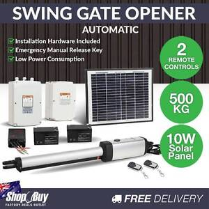 Free Delivery: Auto 1 Arm Swing Gate Opener with 2 Remote Contro Moorebank Liverpool Area Preview