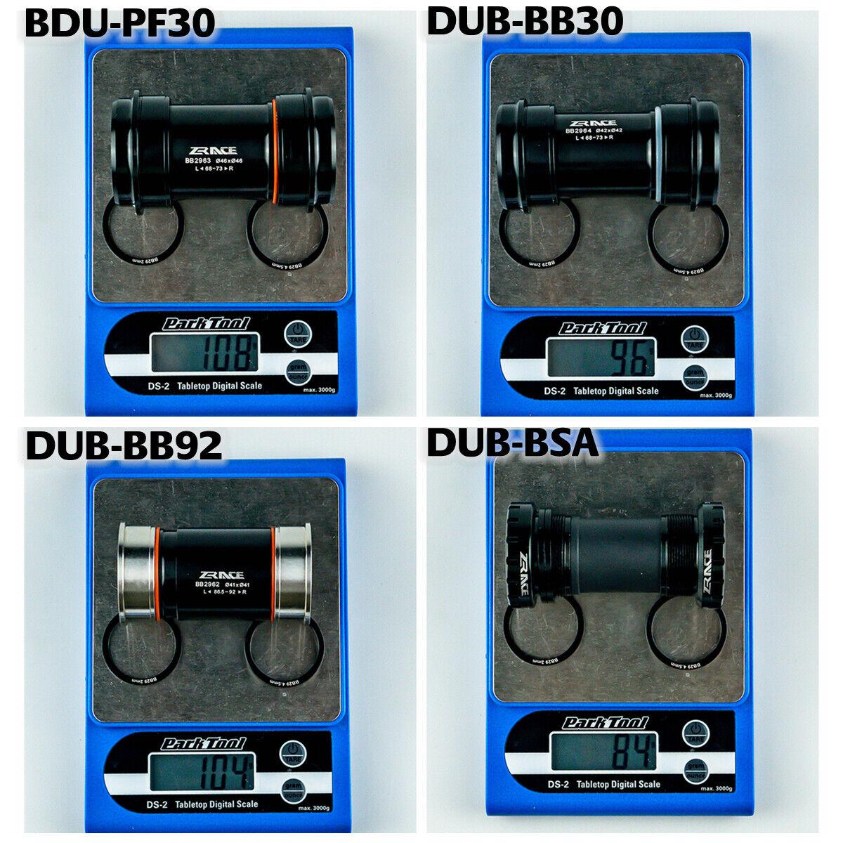 BB30 PF30 Bike DUB Bottom bracket for SRAM MTB // Road Crank BB92 DUB BSA