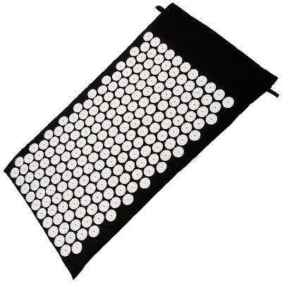 Acupressure Massage Bed Meditation Yoga Spike Skakti Mat Stress Back Pain Relief
