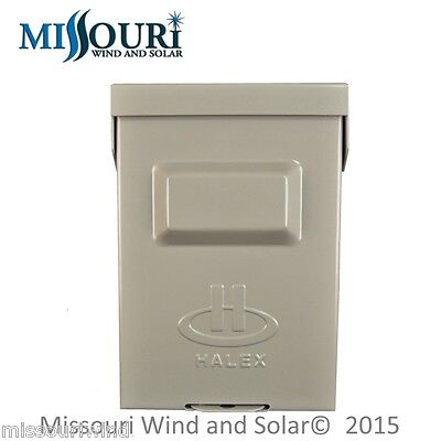 Heavy Duty disconnect box for wind turbines, solar panels