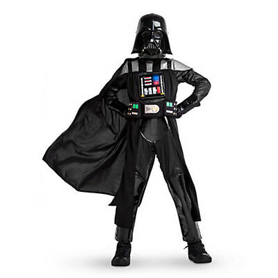 Disney Store Deluxe Star Wars Darth Vader Light Up Boys Costume Size 11/12 - Light Up Darth Vader Kostüm