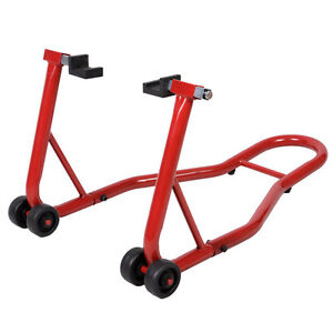 Motorcycle Bike Stand Rear Forklift Spoolift Paddock Swingarm Lift Auto Bike