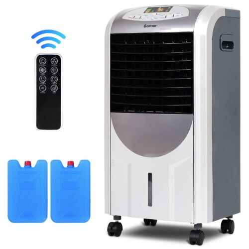 Portable Home Air Cooler Fan And Heater Humidifier 3 Fan Spe