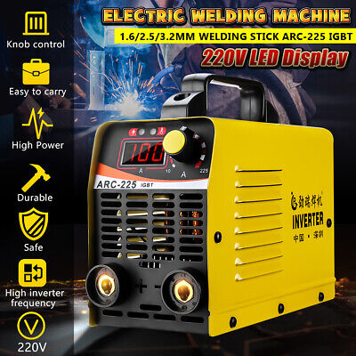220v 225a Tigmma Electric Welding Machine Arc-225 Igbt Inverter Stick Welder