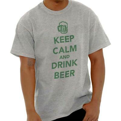 Keep Calm Drink Beer Funny St Patricks Day Shirt Gift Patty Classic T Shirt Tee