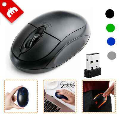 Mini PC Maus Kabellos USB Wireless Mouse 3 Gaming Computer Notebook Laptop