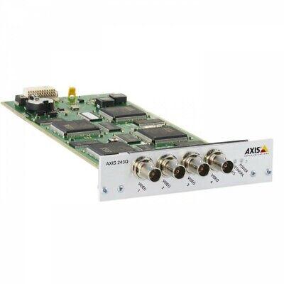 Axis 243q Four Channel Blade Video Server Encoder Moduleinterface 0261-001-01