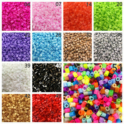 NEW 51 Colors DIY 1000 PCS PP HAMA/PERLER BEADS for GREAT Kids Great Fun Toys](Beads For Kids)