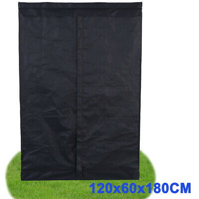 120×60×180CM Indoor Grow Box Tent Non-Toxic Plant Hydroponic Growing Room