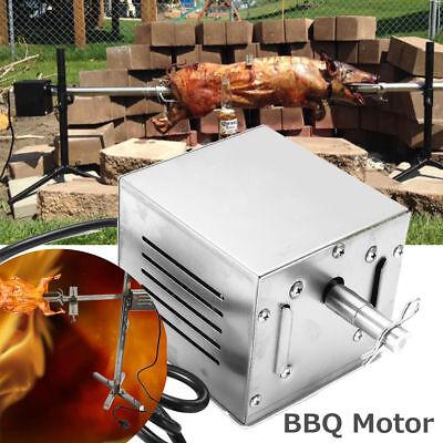 New 60 KGF Stainless Steel BBQ Motor Rotisserie Pig Chicken Grill Electric Roast Stainless Steel Chicken Roaster