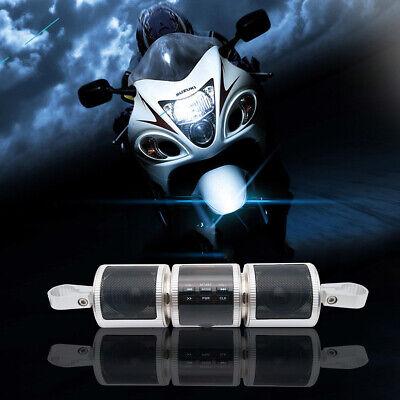 Pour Moto Bluetooth USB AUX SD Audio Système MP3 FM Radio Haut-Parleurs...