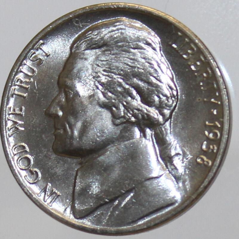 1938-P Full Step FS Gem BU Jefferson Nickel (SP)