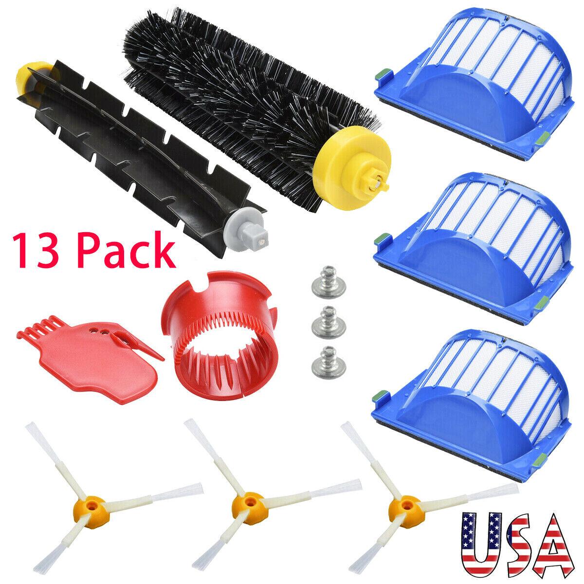 iRobot Roomba Parts Vacuum Side Brush Filter Kit For 585 595