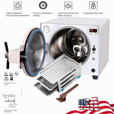Dental Medical 18l Autoclave Sterilizer Vacuum Steam Sterilization 900w