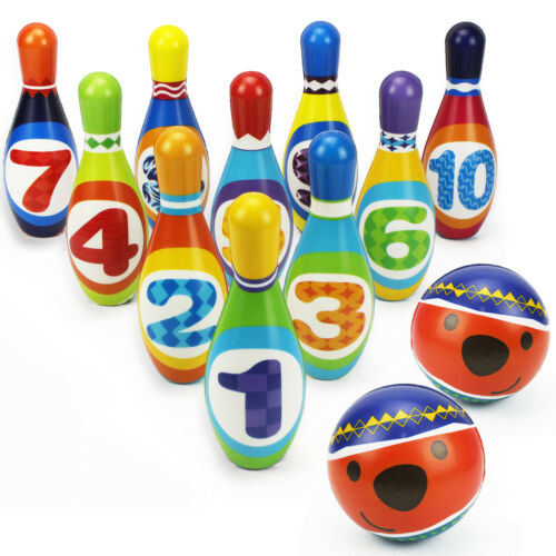 iplay ilearn kids bowling play set foam