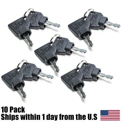 10pk Jcb Parts 3cx - Jcb Ignition Keys 5 Pairs