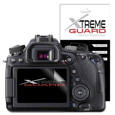 XtremeGuard Screen Protector For Canon EOS 80D (Anti-Scratch) Canon Screen Protector