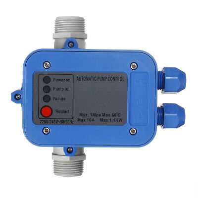 Water Pump Pressure Controller Auto Electric Electronic Switch Control 1100w 10a