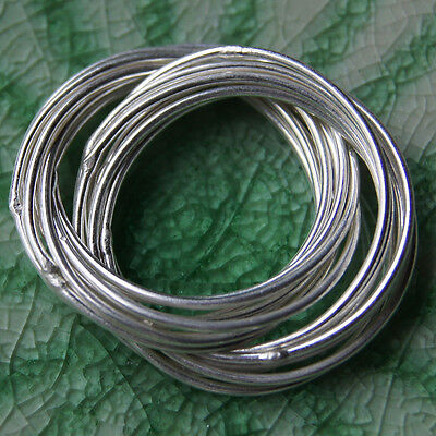 -  Ring Pure Silver Karen Hill tribe Size. US=12 UK = X