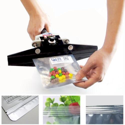 110V 300W Handheld Sealing Machine Aluminium Film Bag Foil Sealer Heat Crimper