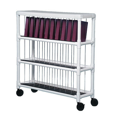Notebook Chart Rack - Holds 30 Ring Binders 1 (Notebook Chart Rack)