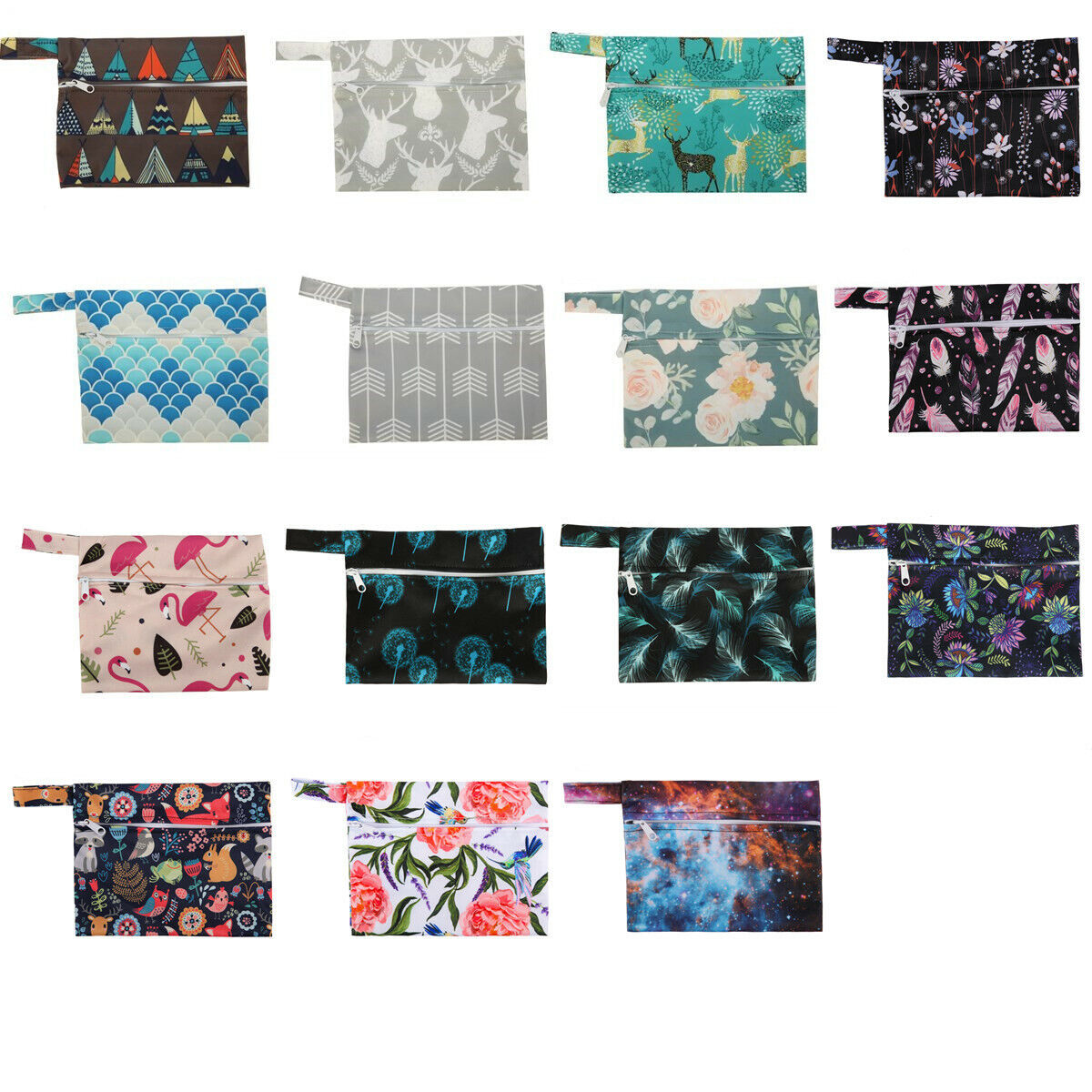 U PICK Mini Wet Bag Waterproof Reusable for Mama Cloth Menst