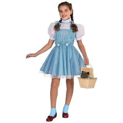 Dorothy Kostüm Kinder Zauberer von oz Halloween Kostüm Rubies Kleid Schule Play (Dorothy Zauberer Von Oz Halloween-kostüm)