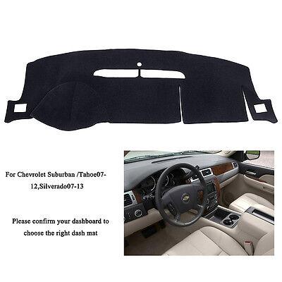 US For Chevrolet Tahoe/Suburban 07-12 / Silverado 07-13 DashMat Dashboard Cover