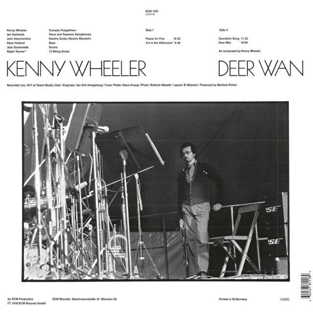 KENNY WHEELER - DEER WAN   VINYL LP NEU
