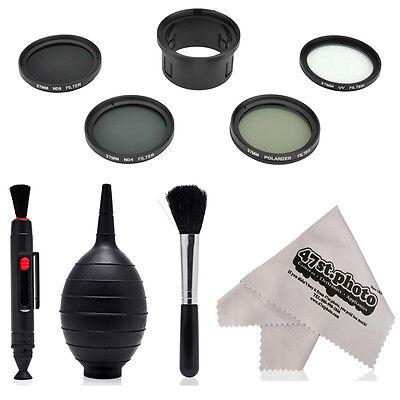 Super Filter Kit CP, UV, ND4, ND8 with Lens Pen, Blower, Brush for DJI Phantom 3