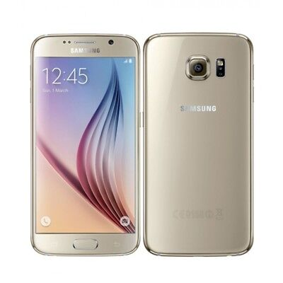 New Overstock Gold Samsung Galaxy S6 SM-G920 GSM Unlocked for...